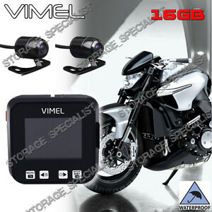 motorcycle camera photo  Dual MotorBike camera MotorCycle Dash Car Waterproof Hardwired Kit ...