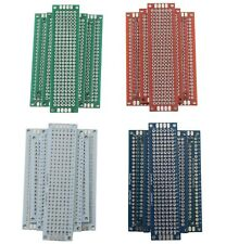 4 Double Sided Universal Pcb Perf Board 2x8 3x7 4x6 5x7 Cm Green Red White Blue