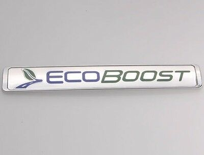 Ecoboost ford embleme badge chrome abs auto autocollant 3D CP19