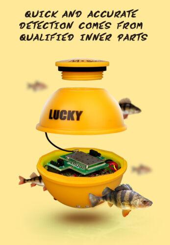 LUCKY FF718LiC-WLA 45M//147Feet Sonar Depth Fish Finder With Flash Lamp Alarm