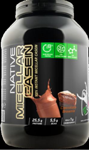 NET INTEGRATORI NATIVE MICELLAR CASEIN 900 GR -- Proteine 85% Caseine Micellari