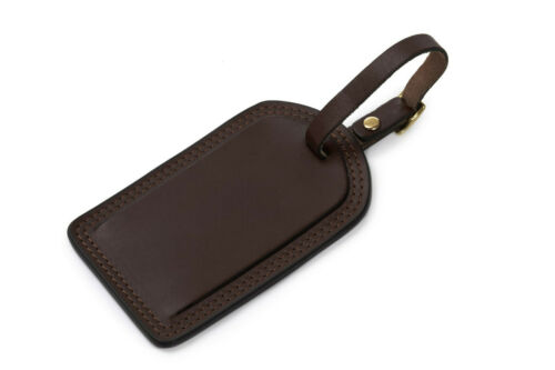 New KORCHMAR LUX R1249 Miller Leather Luggage Tag $25