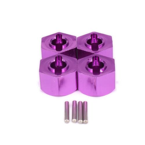 4pcs Wheel Hex Hub Adapter 12x9MM BMT0009 For 1:10 RC Car HPI BULLET 3.0 ST//MT