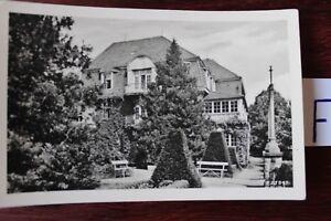 Carte Postale Vue Carte Saxe Sanatorium Gottleuba-afficher Le Titre D'origine