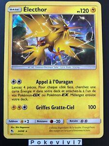 Carte-Pokemon-ELECTHOR-24-68-Holo-Soleil-et-Lune-11-5-SL11-5-FR-NEUF