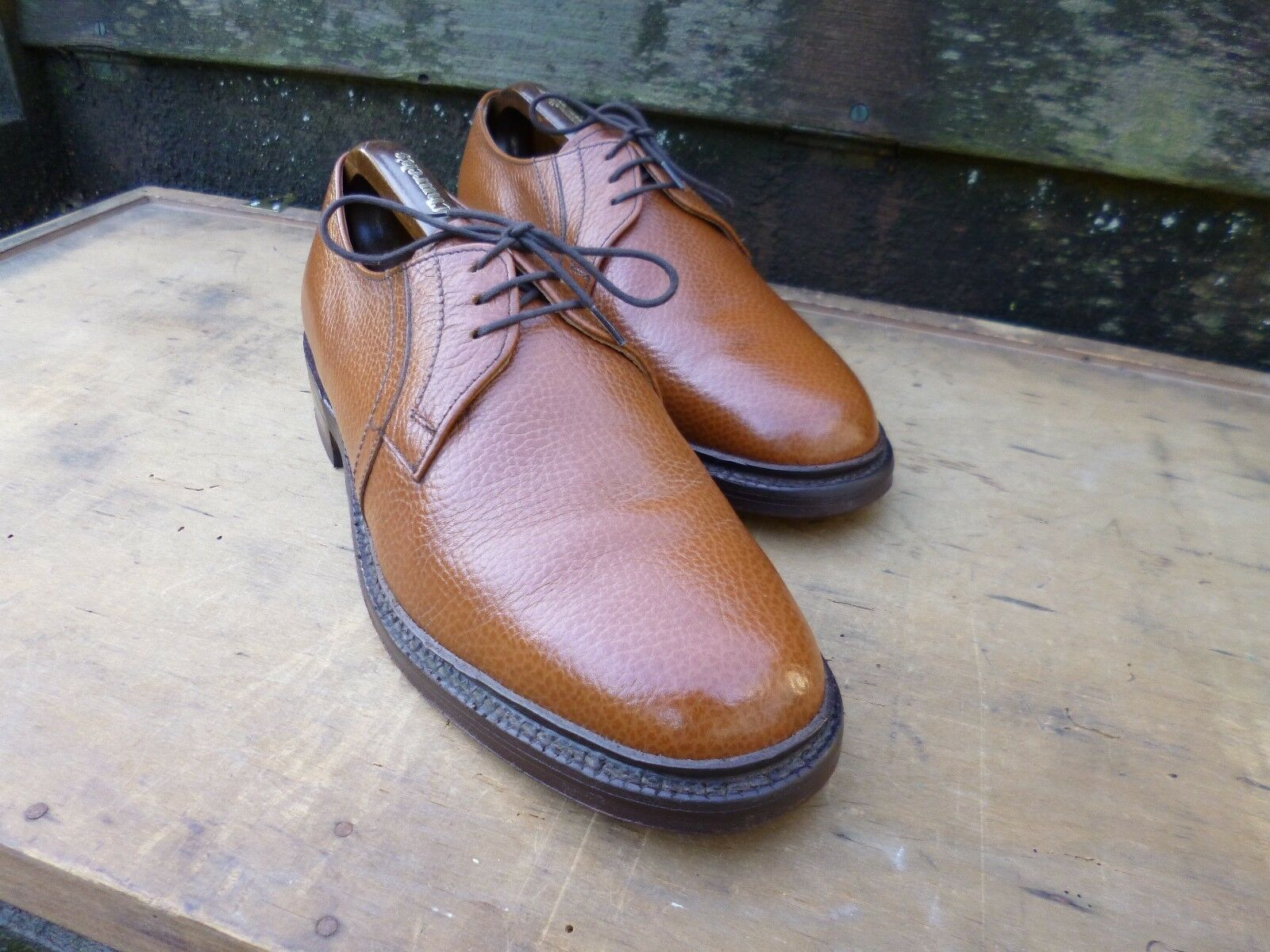 CHEANEY DERBY – BROWN   TAN – UK 8 – MOLTON - SUPERB CONDITION