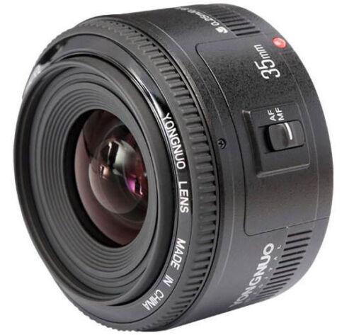 Yongnuo Obiettivo YN35mm F//2  Auto Focus Lens per Canon EOS Full Frame  e  aps-c