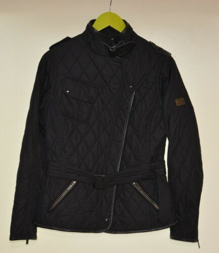 Barbour For Land Rover  Black Quilted Lordenshaw W