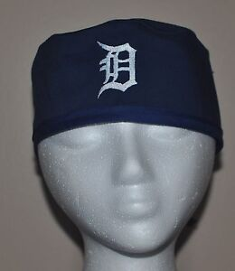 Image is loading Men-039-s-MLB-Detroit-Tigers-Embroidered-Scrub-