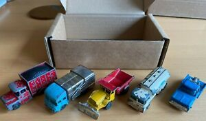 VINTAGE-Husky-CORGI-JOB-LOTTO-1-Vari-Play-indossato-modello-Camion