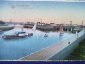 Postkarte vor 1945 - Blankenberghe - Les bassins du port - LUX Ser.135,10. - Leipzig, Deutschland - Postkarte vor 1945 - Blankenberghe - Les bassins du port - LUX Ser.135,10. - Leipzig, Deutschland