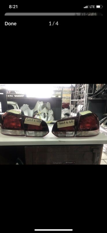 Golf 6 taillight complete set for 2010