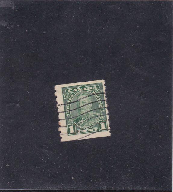 CANADA  KING GEORGE V 1 C. (1935 ) SCOTT  # 228