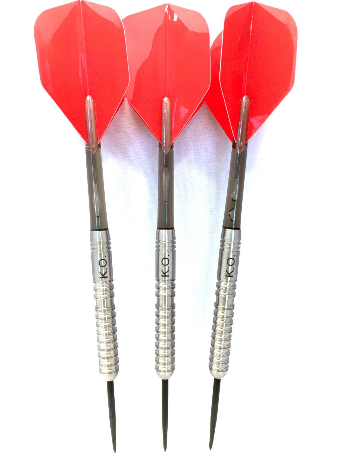 KO Steel Tip Darts, 24 Gram 90% Tungsten Darts Darts Darts With Case, Professional Dart Set bdd3c4