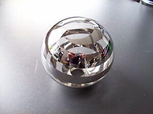 Glas lampenschirm ersatzglas kugel chrom transparent g lochmaß