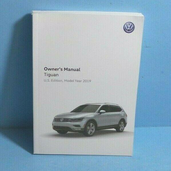 19 2019 VW Tiguan owners manual | eBay