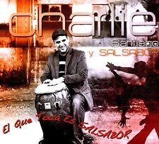 """CHARLIE SANTIAGO Y SALSASABOR - """"El QUE TOCA ES SALSABOR"""" - CD"""