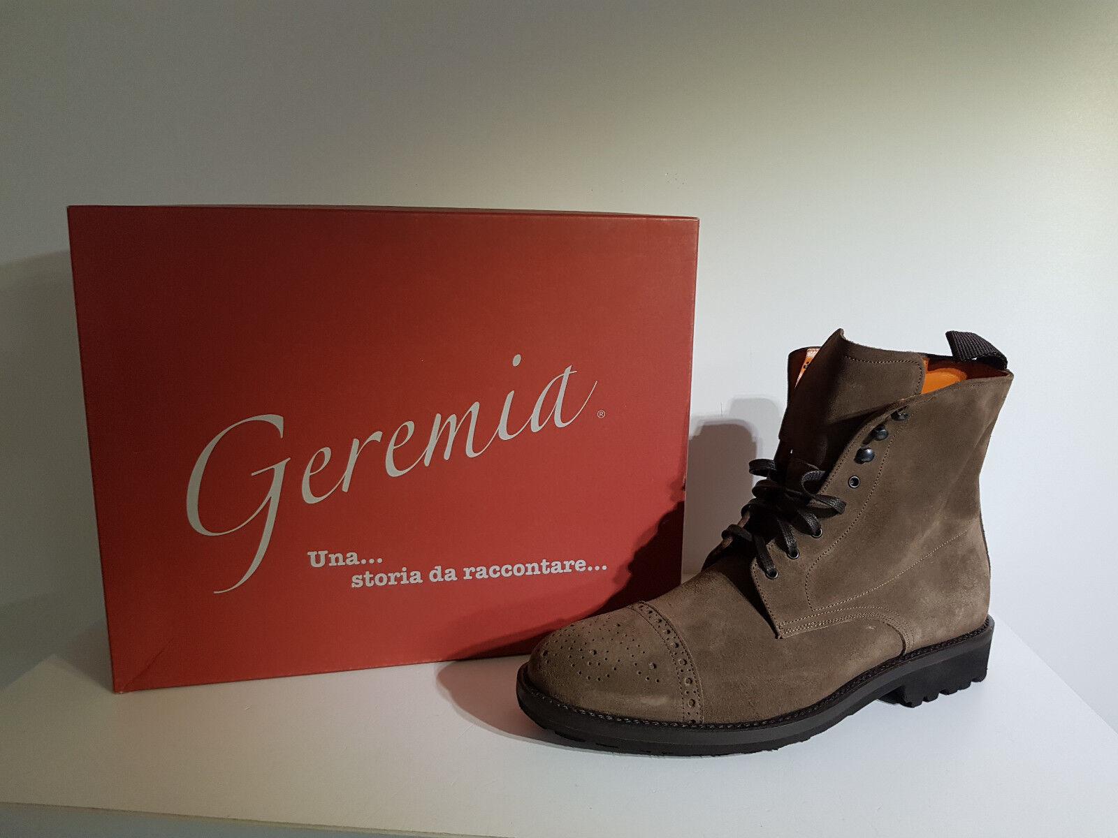 Herren Schuhe Geremia Rabatt. - 60%Artikel 245-4998 Velour Velour Velour taupe Braun. 22d6dd