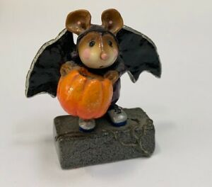 Wee Forest Folk Is That All Halloween Edition m-298 Solid Black Wings  US Seller