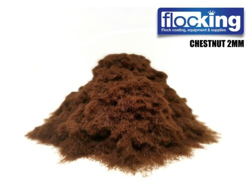 STATIC GRASS FOR SCENERY FLOCK FOR MODELS TRAIN SETS SCULPTURES COPPER COFFEE