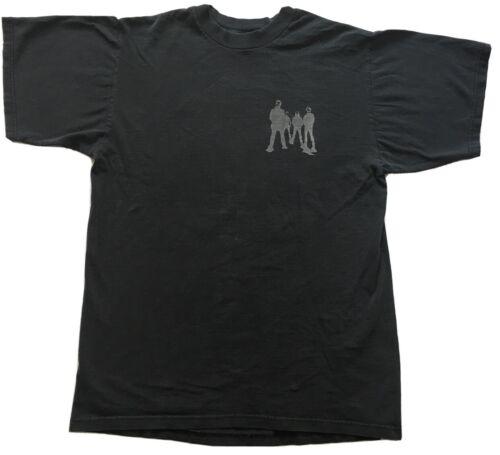 Vintage 90's Soundgarden Black Tshirt Gray Group S