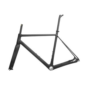 Disc-Brake-Bicycle-Frame-700C-UD-Matt-Carbon-Road-Bike-Frameset-BSA-DI2-QR