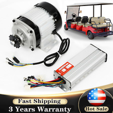 48v Dc 750w Brushless Electric Motor Kit With Controller For Scooter Go Kart