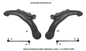 RENAULT LAGUNA MK2 FRONT LOWER  ARMS LINKS X 2 NEW