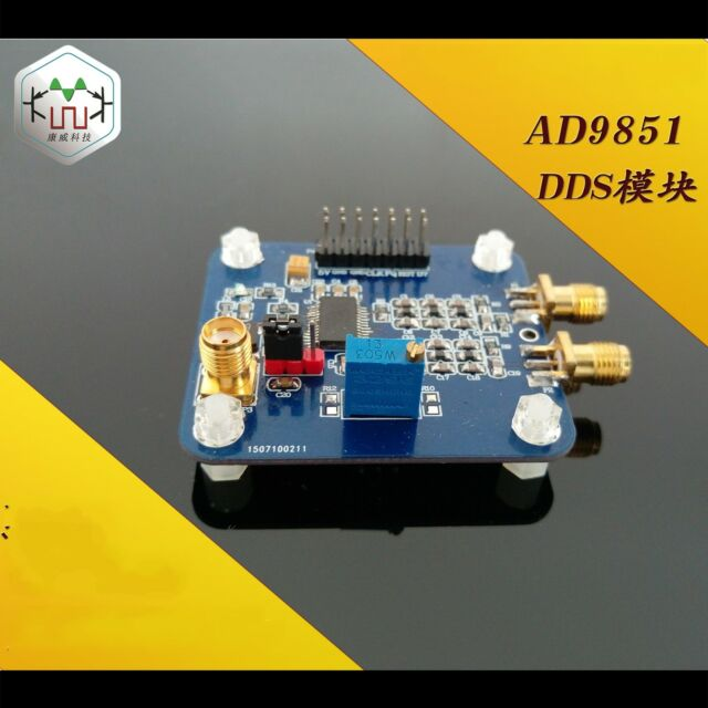 AD9851DDS Function Generator compatible 9850 / 180Mhz sine wave