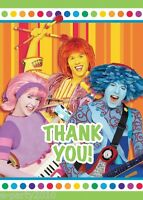 Doodlebops Thank You Notes (8) Birthday Party Supplies Stationery Thanks Cards