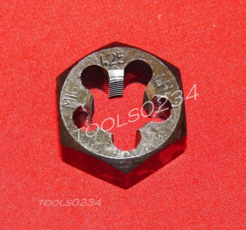 "High Quality M16 X 1.25 16MM LEFT HAND Metric 1.3/"" Hex Rethread Die Carbon Steel"
