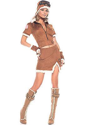 NWT SEXY AVIATOR pilot airline captain Halloween costume