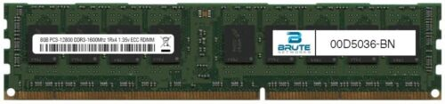 00D5036 IBM Compatible 8GB PC3-12800 DDR3-1600Mhz 1Rx4 1.35v ECC RDIMM