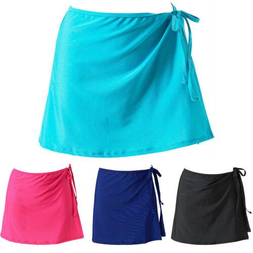 Women Beach Bikini Cover up Swim Skirt Short Wrap Sarong Beachwear Pareo HOT