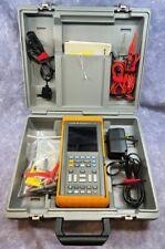 Fluke 99b Scopemeter Series Ii 100mhz Oscilloscope With Case Amp Accessories Working