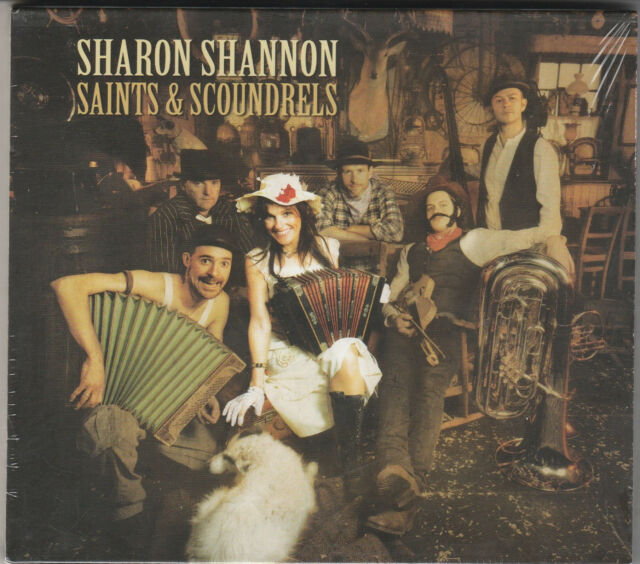 Sharon Shannon- Saints & Scoundrels Factory Sealed NEW CD Free 1st Class UK P&P