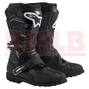 Stivali-Moto-Impermeabili-Alpinestars-TOUCAN-GORETEX-Boot-con-Protezioni