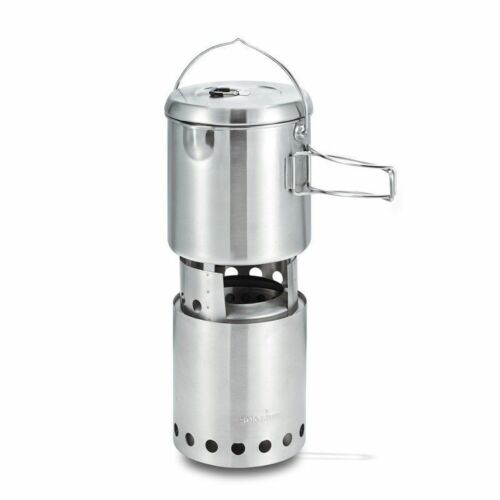 Solo Stove Titan & Pot 1800 Combination Pack Ultimate Natural Fuel Stove