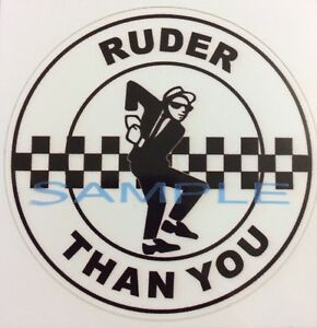 RAF Eyes Car Vespa Lambretta Scooter Camper Van Decal Sticker