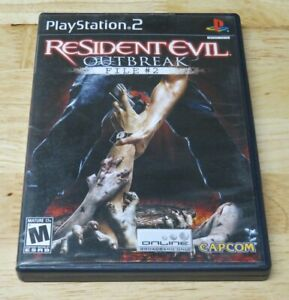 Resident Evil: Outbreak File #2 (Sony PlayStation 2 PS2) Complete & Tested