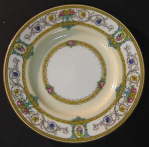 Antique-Vtg-Minton-Grasmere-Bread-amp-Butter-Plate-side-dessert-Mustard-sev-avail