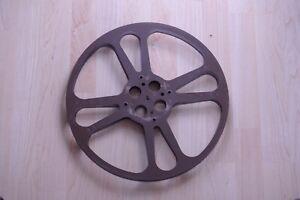 Goldberg-Bros-2000-foot-15-Metal-Film-Reel-Cinematic-Projector-Reel-USA