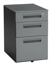 """Mobile File Pedestal with 3 Drawers 15.50"""" x 23"""""""