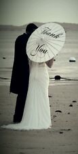 Wedding Umbrella 'Thank You' Photo Prop Beach Vintage Favour Bridal Party