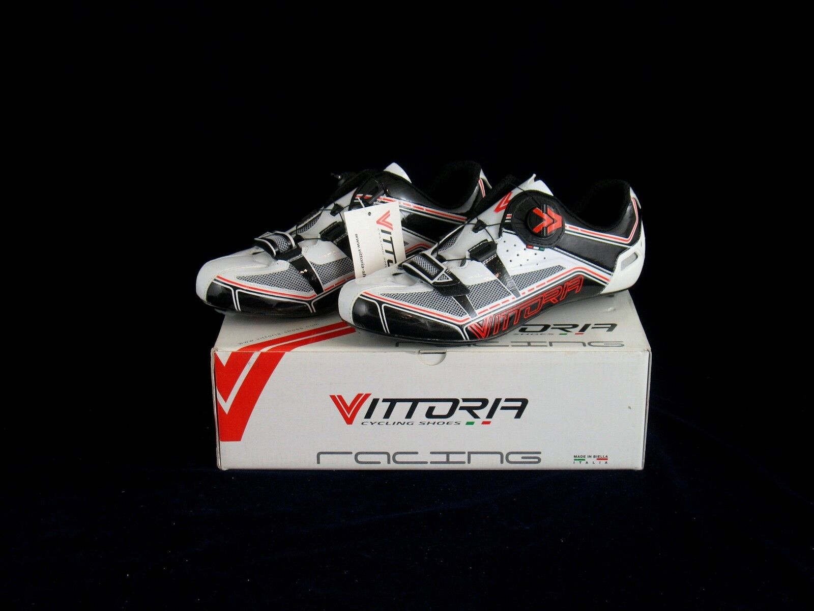 VITTORIA ITALIAN V road cycling zapatos (nos SPIRIT) 8, 8.5