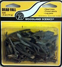 Woodland Scenics S30 Dead Fall Trees or Stumps - NIB