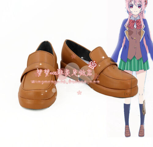 New Happy Sugar Life Satou Matsuzaka cosplay boots shoes costom made