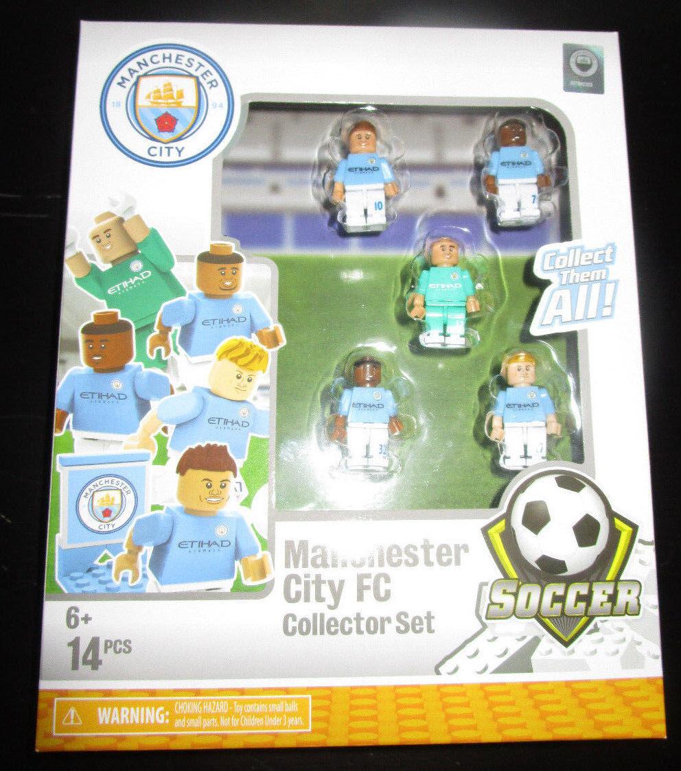Oyo para armar Manchester City FC Coleccionista Set Fútbol Etihad equipo Caballero