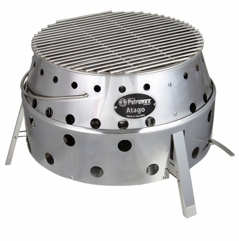 Petromax Grill Atago Outdoorgrill robust rostfrei Stahl Grillrost Herd Ofen