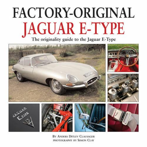 Jaguar Xke  E-Type 3.8 4.2 6 Cly V12 Original Restoration Originality Guide Book